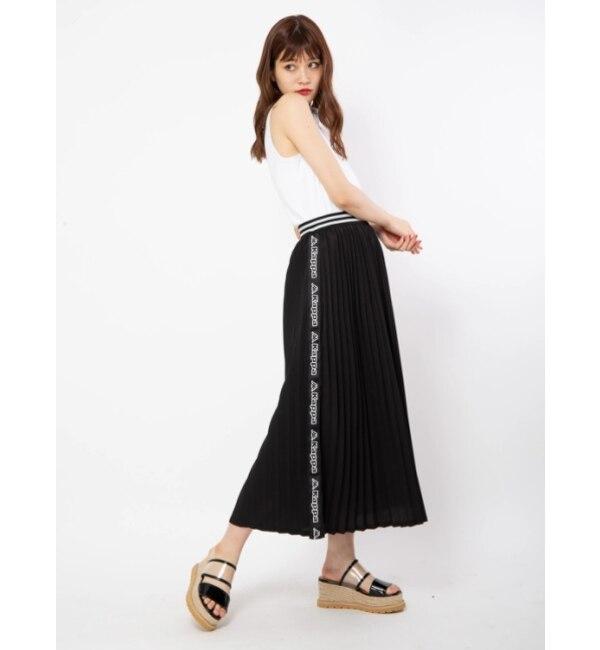 【セシルマクビー/CECIL McBEE】 kappaコラボ プリーツスカート