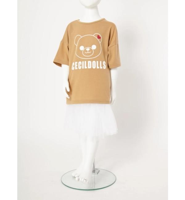【セシルマクビー/CECIL McBEE】 セシルベアTシャツ(子供)