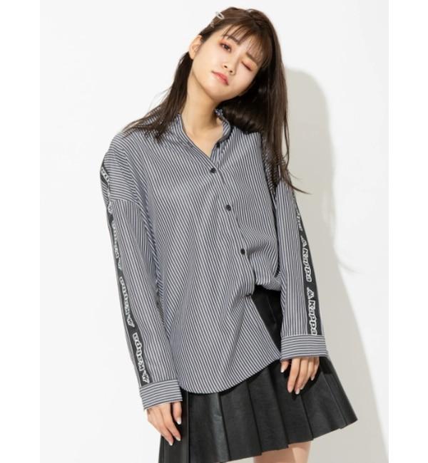 【セシルマクビー/CECIL McBEE】 【Kappa】BIGシャツ