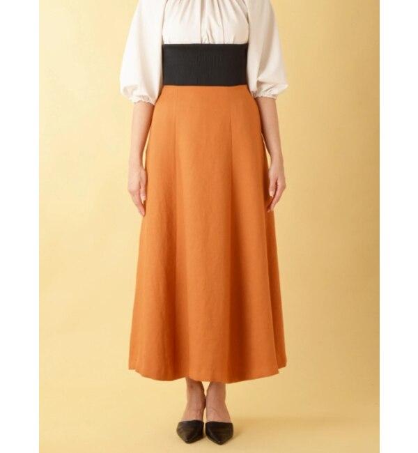 【ソフィラ/sophila】 ウエストゴム2WAYスカート