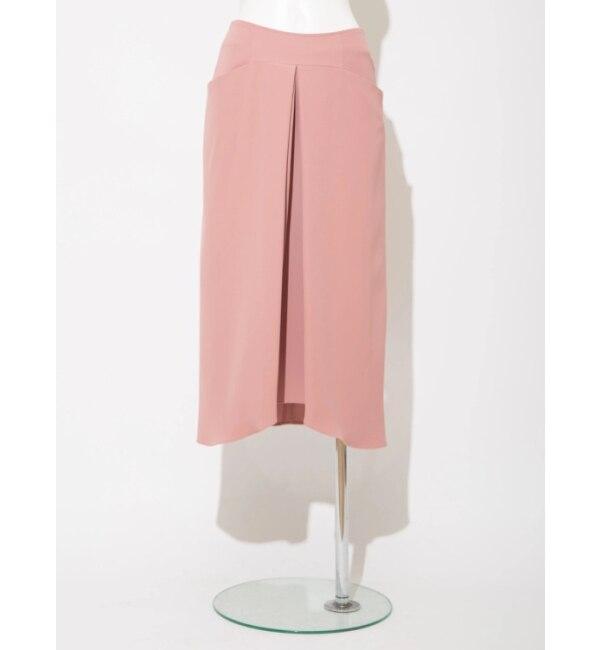 【ソフィラ/sophila】 ツイルタックドレープスカート