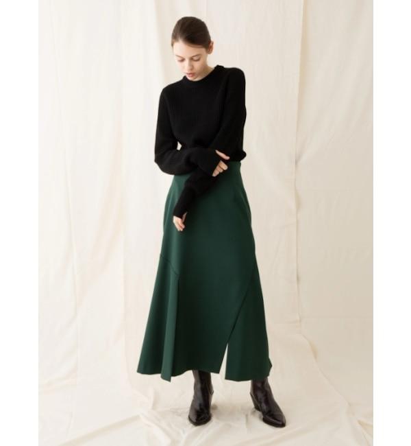 【ソフィラ/sophila】 Aラインパネルスカート