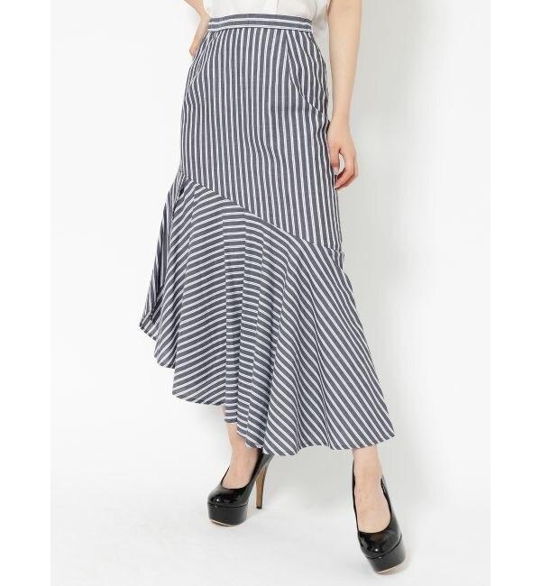 【リゼクシー/RESEXXY】 2WAYアシメ切替スカート