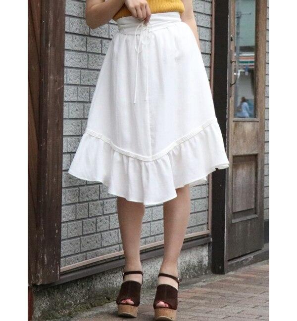 【ダズリン/dazzlin】 コルセット付フレアスカート