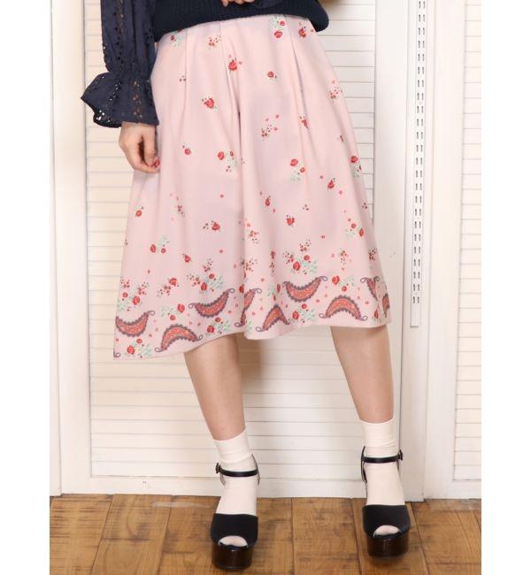 【ダズリン/dazzlin】 CHAPON×dazzlinフレアスカート