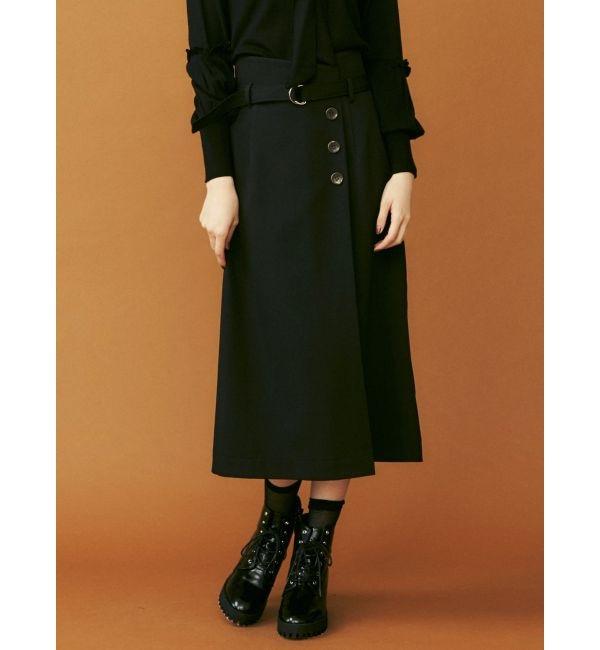 【ダズリン/dazzlin】 フロントタックタイトスカート
