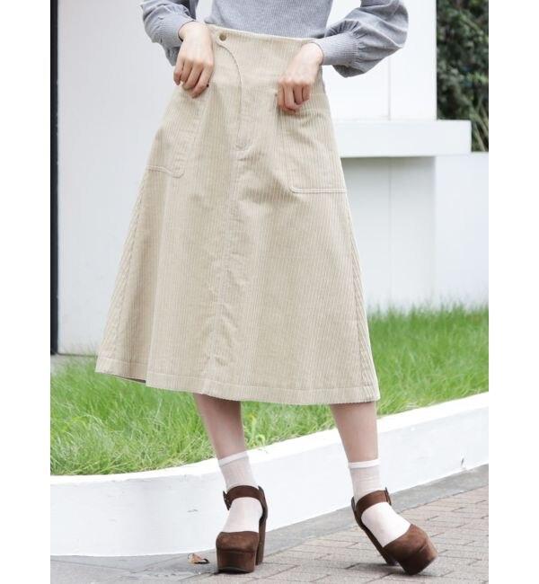 【ダズリン/dazzlin】 コールAラインスカート