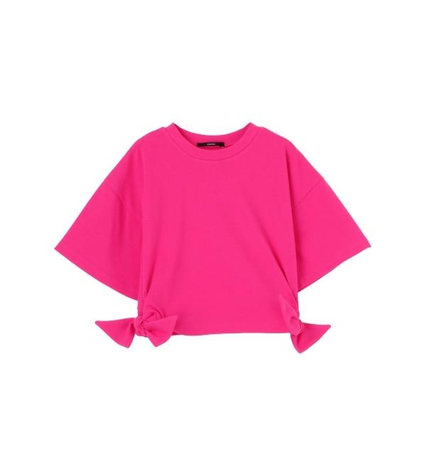 【エモダ/EMODA】 ミニオープン スリーブ Tシャツ