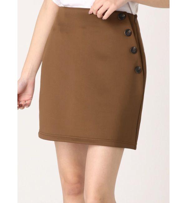 【エモダ/EMODA】 デザインボタンスカート