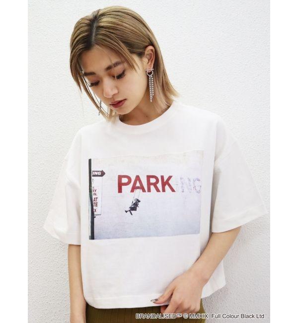 【エモダ/EMODA】 WIDE Tシャツ Banksy No Parking