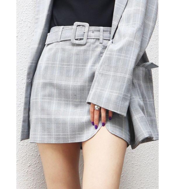 【エモダ/EMODA】 フラップタイトスカート