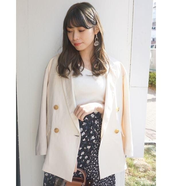 【マーキュリーデュオ/MERCURYDUO】 ダブルブレストジャケット