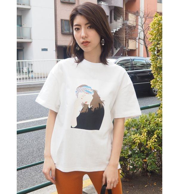 【ムルーア/MURUA】 GirlルーズTシャツ