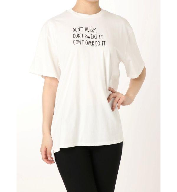 【ムルーア/MURUA】 DON'T Tシャツ