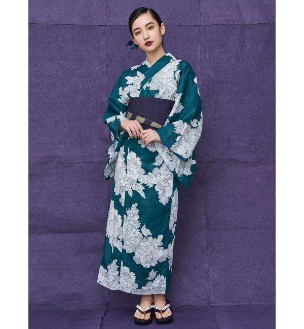 【ムルーア/MURUA】 浴衣セット【散らし牡丹】