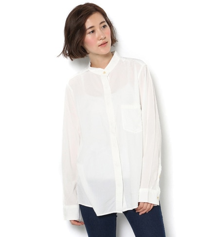 【アングリッド/Ungrid】 【Cl】マオカラーポケットシャツ [送料無料]