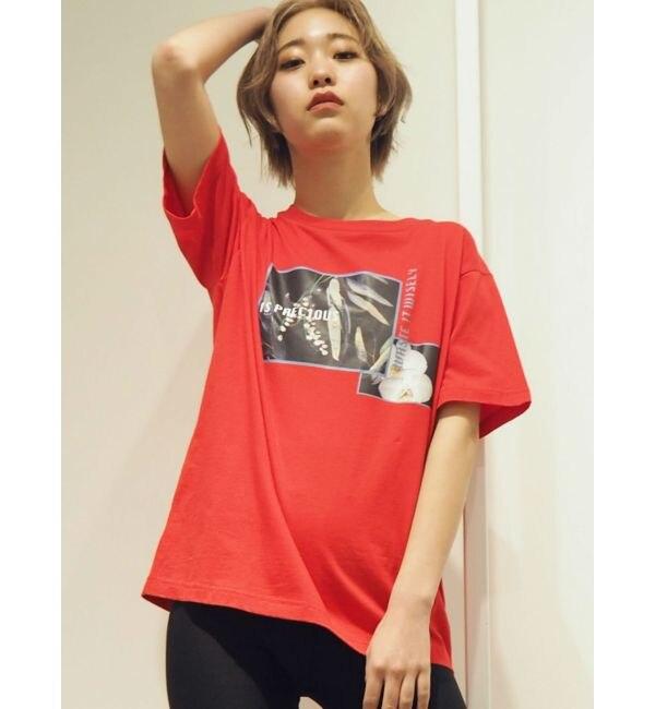 【エヴリス/EVRIS】 FLOWERプリントTシャツ
