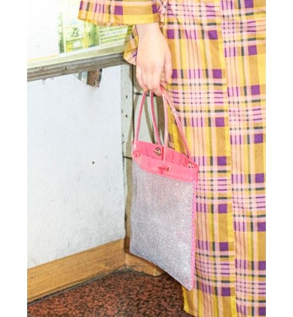 【ジュエティ/jouetie】 カラーメッシュトートバッグ
