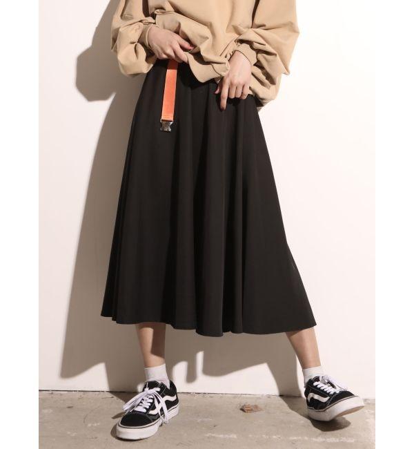 【ジュエティ/jouetie】 ドローコードギャザーミディスカート