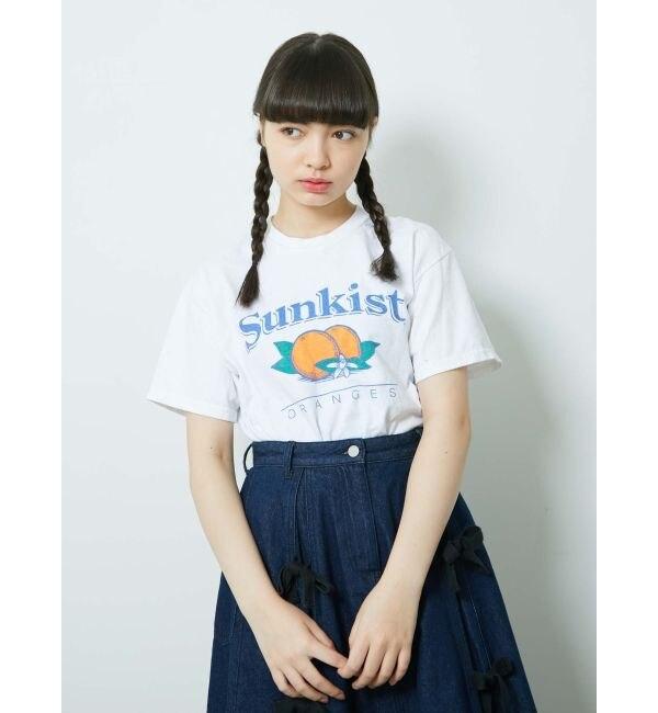 【メリージェニー/merry jenny】 Sunkist Tee