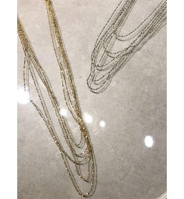 【ジェイダ/GYDA】 many chain ネックレス