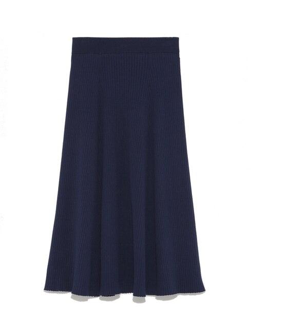 【ミラオーウェン/Mila Owen】 リブニットセットアップスカート [送料無料]