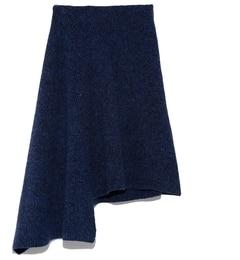 【ミラオーウェン/Mila Owen】 アシンメトリーメランジニットスカート [送料無料]