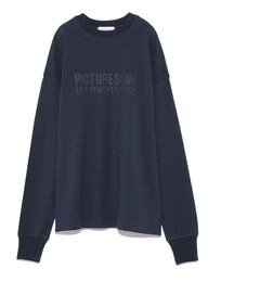 【ミラオーウェン/Mila Owen】 ロゴプリントロングTシャツ [送料無料]