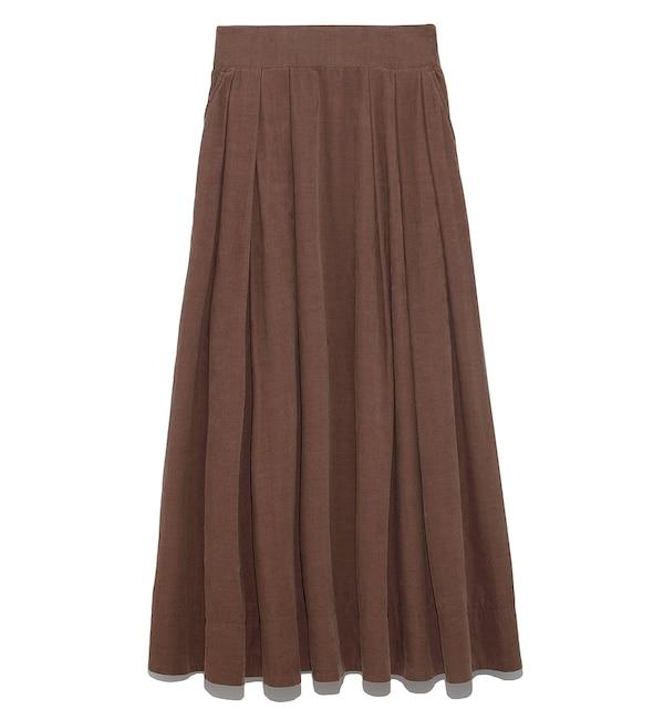 【ミラオーウェン/Mila Owen】 細コールセットアップスカート