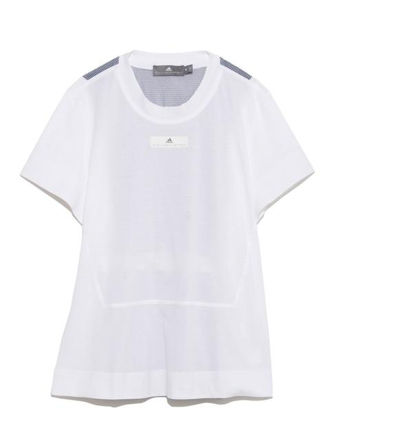 【adidas by Stella McCartney】RUN ルーズTシャツ【エミ/emmi レディス その他(トップス) WHT ルミネ LUMINE】