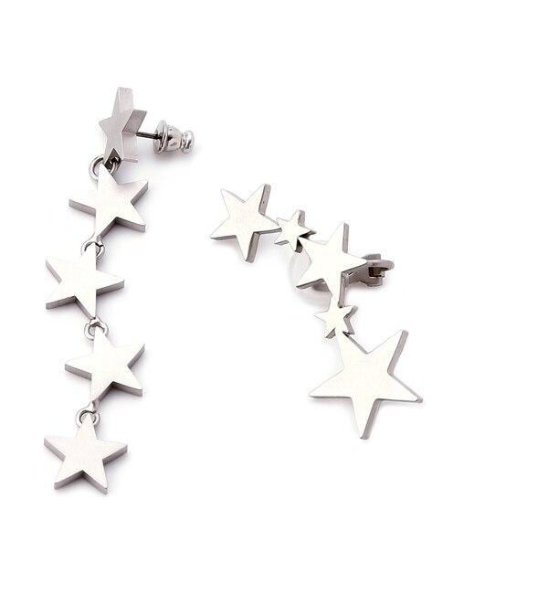 【ファーファー/FURFUR】 星ピアス&イヤーカフset [送料無料]