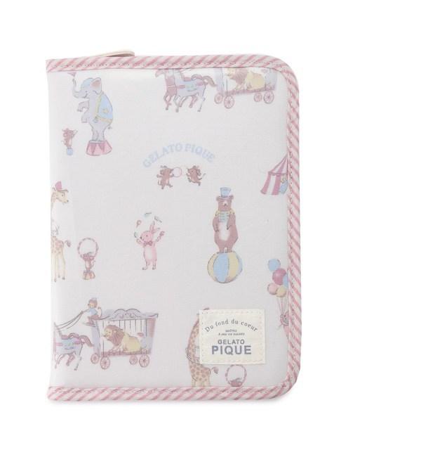【ジェラート ピケ/gelato pique】 アニマルサーカス母子手帳ケース [送料無料]