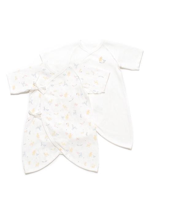 【ジェラート ピケ/gelato pique】 【新生児】コンビ肌着2枚組セット [送料無料]