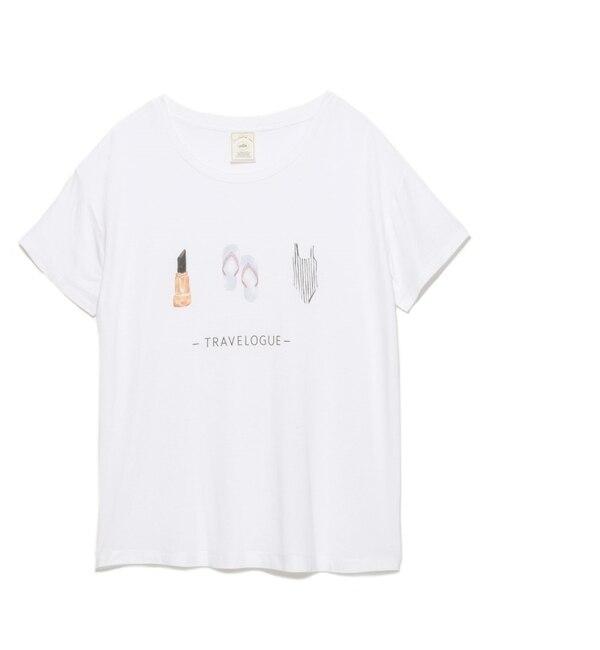 【ジェラート ピケ/gelato pique】 リゾートモチーフTシャツ [送料無料]