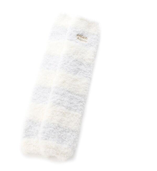 【ジェラート ピケ/gelato pique】 'ジェラート'2ボーダーレッグウォーマー [3000円(税込)以上で送料無料]