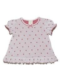 <アイルミネ> ★送料無料!ハートジャガード baby Tシャツ画像
