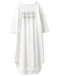 【ジェラート ピケ/gelato pique】 リサイクルコットンロゴロングドレス [送料無料]