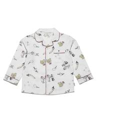 【ジェラート ピケ/gelato pique】 アニマルペイント kids ネルシャツ [送料無料]