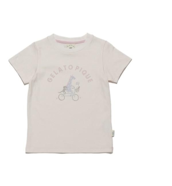 【ジェラート ピケ/gelato pique】 アニマルパークワンポイント kids Tシャツ [3000円(税込)以上で送料無料]