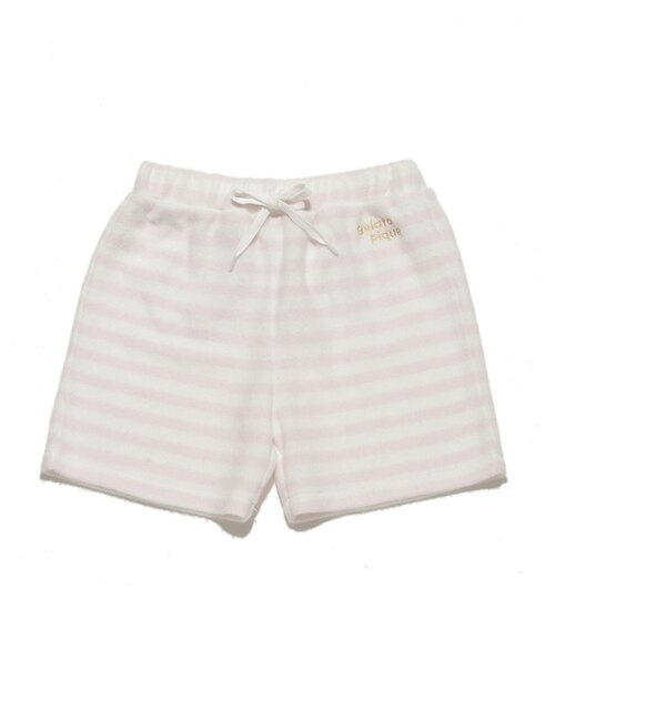 【ジェラート ピケ/gelato pique】 パイルボーダー kids パンツ