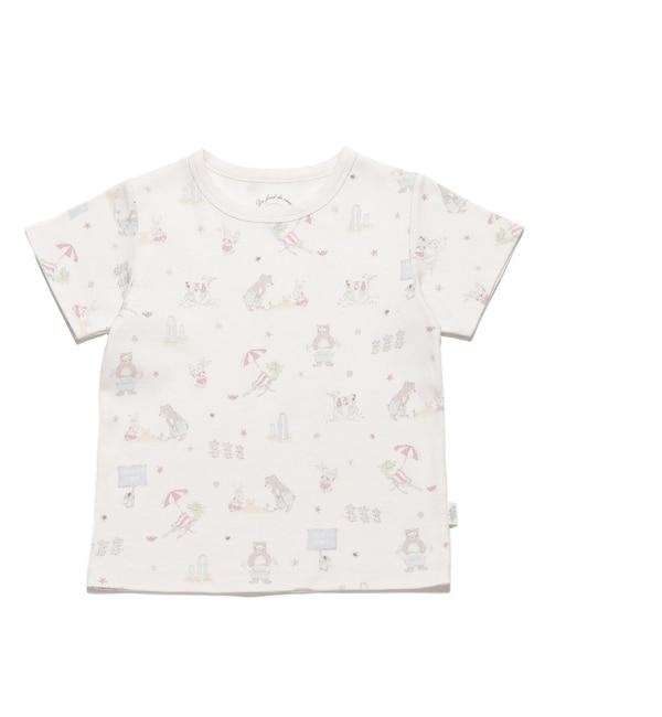 【ジェラート ピケ/gelato pique】 アニマルビーチ kids Tシャツ [送料無料]