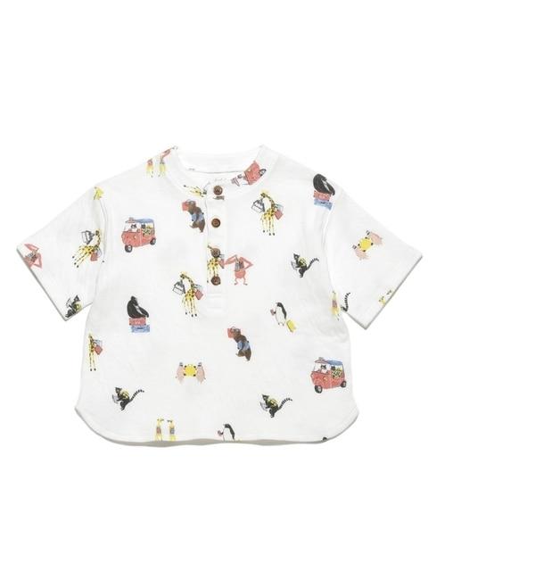 【ジェラート ピケ/gelato pique】 アニマルバケーション kids Tシャツ [送料無料]