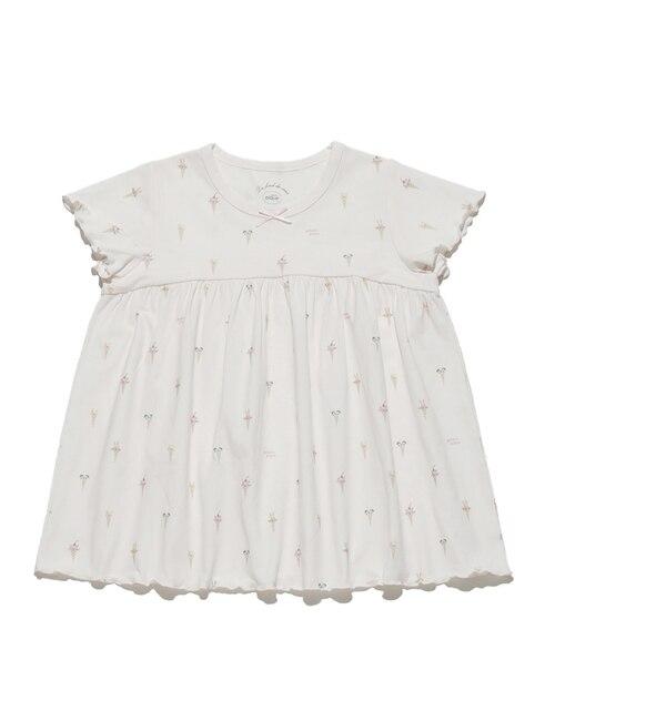 【ジェラート ピケ/gelato pique】 アイスクリームアニマル kids Tシャツ
