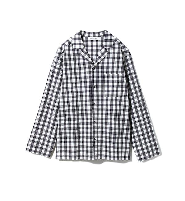 【ジェラート ピケ/gelato pique】 【GELATOPIQUEHOMME】ギンガムチェックシャツ