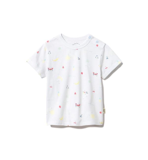 【ジェラート ピケ/gelato pique】 【BABY】シロクマフルーツ baby Tシャツ