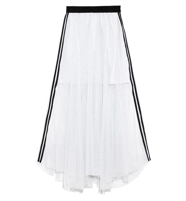 【スナイデル/SNIDEL】 シャイニーラインスカート