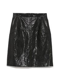【フレイ アイディー/FRAY I.D】 レザーミニタイトスカート [送料無料]