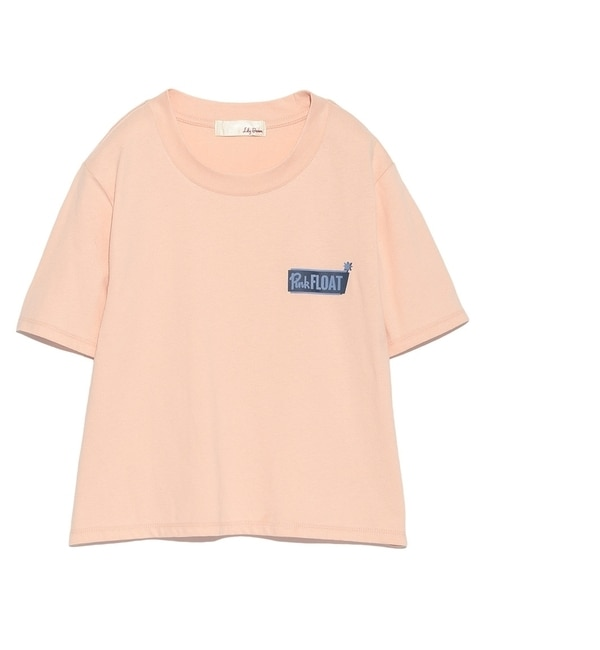 【リリーブラウン/Lily Brown】 フロッキーロゴTシャツ [送料無料]