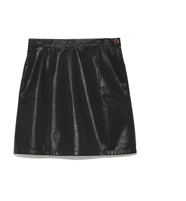 <アイルミネ> ビニールボンディング台形スカート