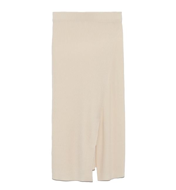 【スタイリング/styling/】 リブニットスカート